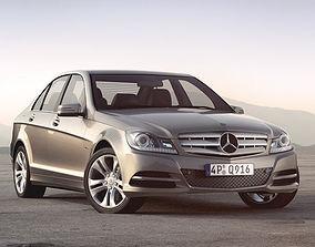 3D model Mercedes C-Class sedan