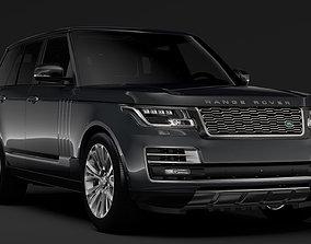 3D Range Rover SV Autobiography L405 2018