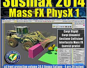 3ds max 2014 Mass Fx PhysX v 39 Italiano cd animated