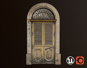 3D model Medieval Door 1 PBR