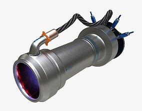 3D model Ion thruster