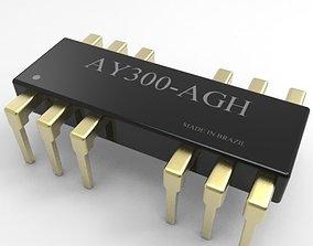 Integrated Circuit 3D model