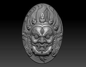 3D print model Tibetan buddha head