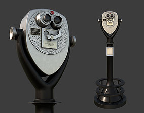 Tower Optical Binocular Viewer 3D asset