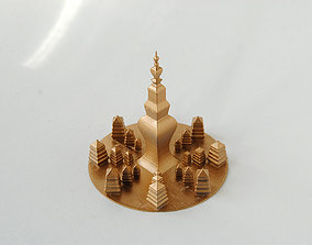Pagoda temple 3D print model
