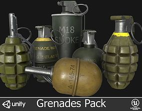 3D model Grenades Pack