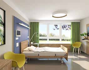 Hospital Room sick 3D model