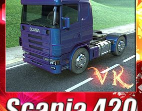 3D Truck Scania 420 High Detail