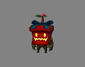 3D model Cartoon gift box monster