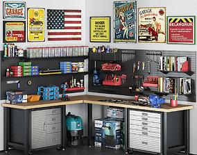 3D garage tools set 15