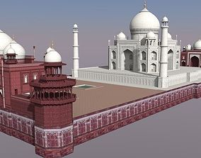 Taj Mahal 3D printable model