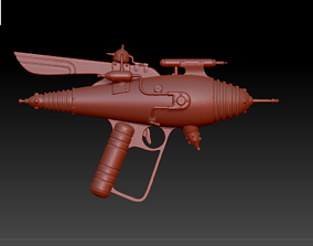 Retro Raygun For Print 3D printable model