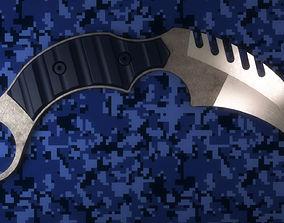 3D Karambit Knife