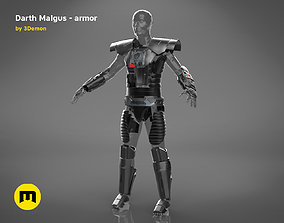 3D print model Darth Malgus armor - Star Wars