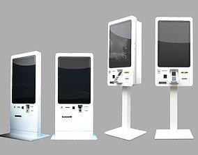 3D model KIOSK SELF-SERVICE TERMINAL fast