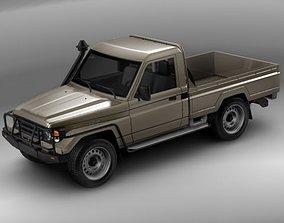 3D model Toyota Landcruiser 79-series Truck