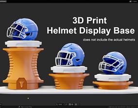 3D print model Drink Cooler Helmet Display Base