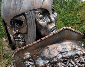 3D printable model The Chronicles of Riddick Armor Helmet
