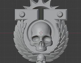 3D printable model Ultramarine chapter badge