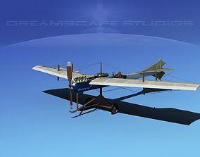 3D Antoinette Monoplane V04