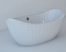 3D model Bathtub freestanding