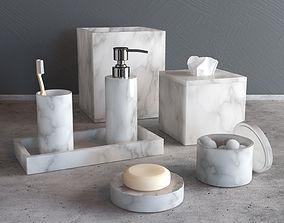 3D model Kassatex Alabaster bath accessoires