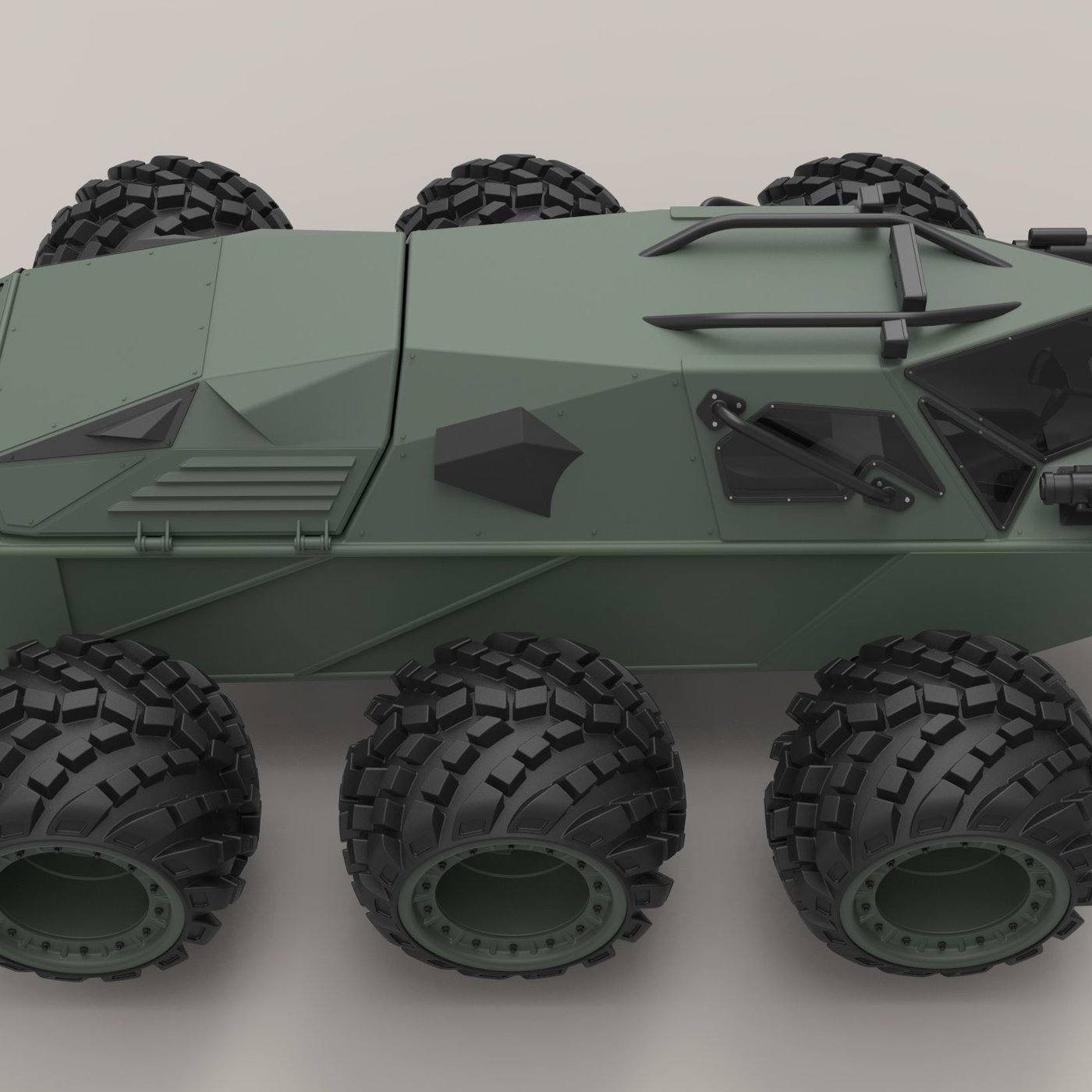 Concept military vehicle
