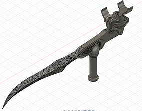 3D printable model Bloodrayne Twin blades for cosplay