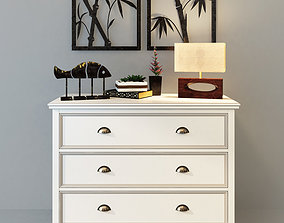 3D Dresser Palermo with three drawers