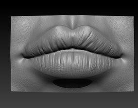 Female Lips 3D printable model