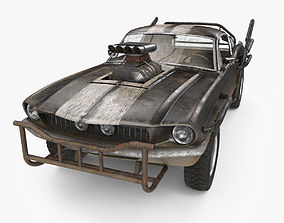 3D Mad Max Style Car