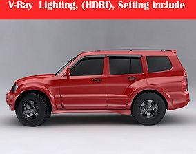 3D model 3d Mitsubishi Pajero Montero Wagon