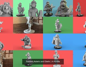 3D Soldiers Asterix and Obelix