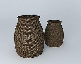 3D model baskets, baskets