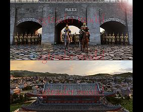east ancient city 3D