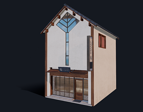 3D asset Kyoto Sakura House