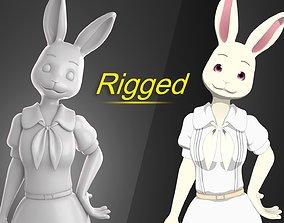 3D model Haru Beastars Anime