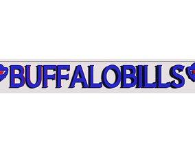 3D model BuffaloBills logo
