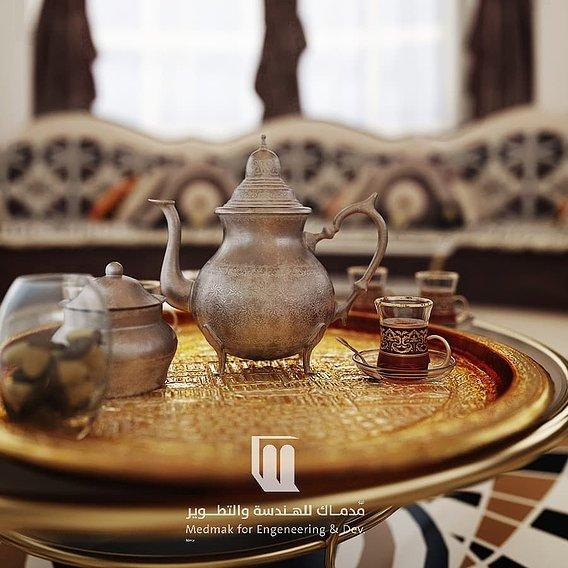Classic tea set