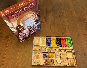 3D printable model Concordia Board Game Organizer with 1