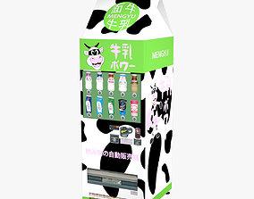 3D model Mengyu Vending machine