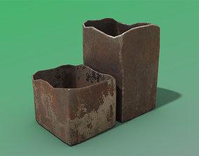 Old Tin Box 3D asset