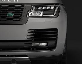 Range Rover Vogue LWB L405 2018 3D model