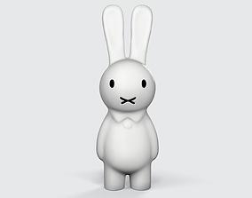 3D printable model easter bunny printable