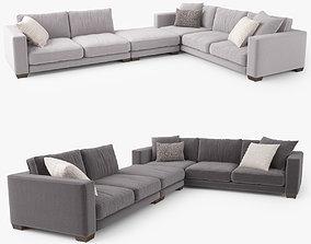 Jardan Enzo Corner Sofa Modular 3D