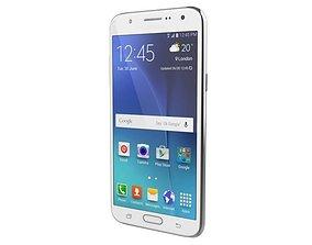 electronics 3D Samsung Galaxy J7 White