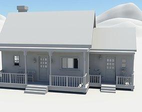 3D asset Farmhouse