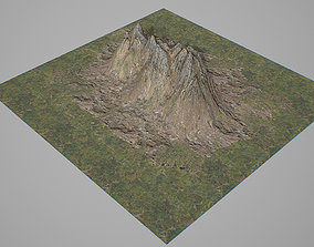 3D model Mountains V4