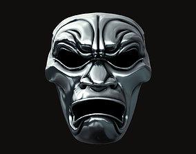Immortal Warrior Mask - 300 3D printable model
