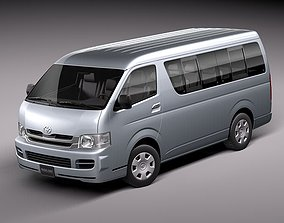 3D model Toyota Hiace